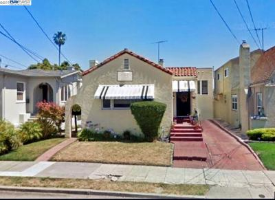 Oakland CA Single Family Home New: $650,000