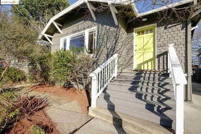 Berkeley Single Family Home New: 1361 Santa Fe Ave