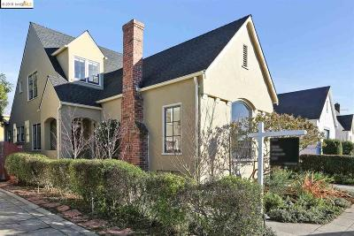 Oakland CA Single Family Home New: $895,000