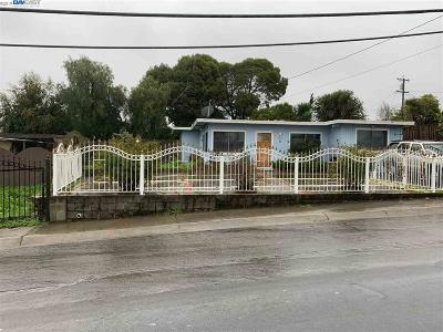 San Pablo Single Family Home Sold: 1078 Rachel Rd