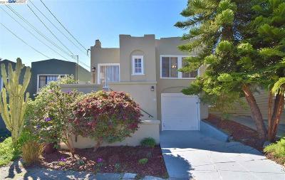 Oakland Single Family Home New: 3065 Birdsall Ave