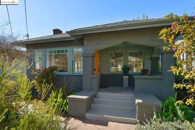 Oakland Single Family Home New: 5421 Brookdale Ave