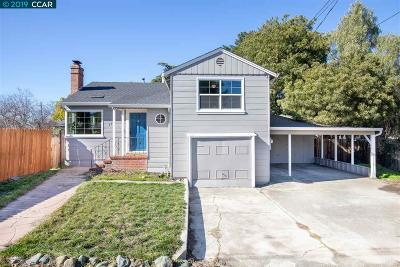 Concord CA Single Family Home New: $460,000
