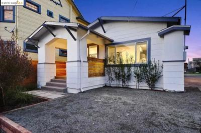 Oakland Single Family Home For Sale: 834 60th St