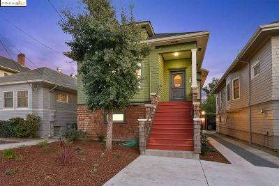 Oakland Single Family Home New: 4232 Montgomery St