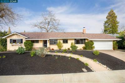 Walnut Creek Single Family Home For Sale: 366 El Divisadero Ave
