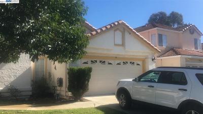 Antioch Single Family Home Price Change: 4412 Pampas Cir