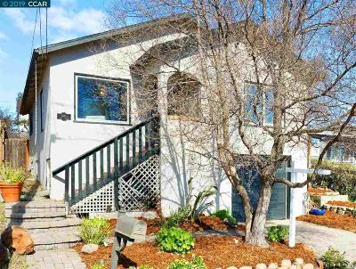 Martinez Single Family Home New: 2481 Leslie Ave