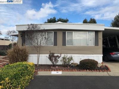 Fremont Mobile Home For Sale: 4141 Deep Creek