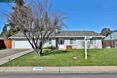 Concord Single Family Home New: 1575 Placer Dr
