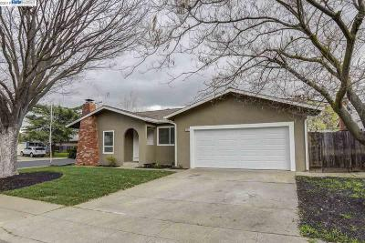 Livermore Single Family Home Pending Show For Backups: 1204 Saint Mary Dr