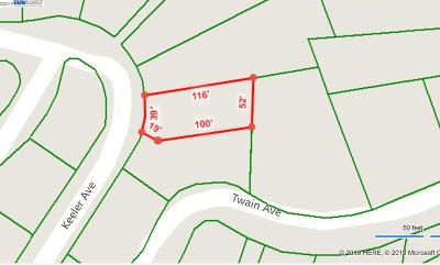 Berkeley Residential Lots & Land For Sale: 1105 Keeler Ave