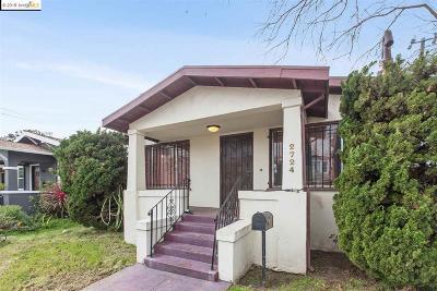 Berkeley Single Family Home Pending Show For Backups: 2724 Dohr St