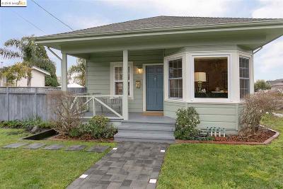 El Cerrito Single Family Home Pending: 755 Pomona Ave