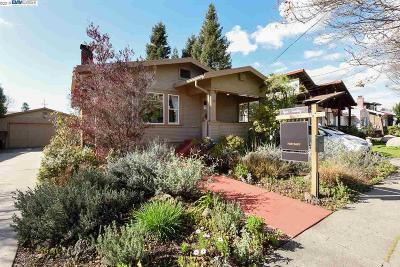 San Leandro Single Family Home Pending Show For Backups: 473 Lewis Ave