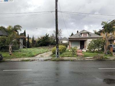 Oakland Residential Lots & Land Active-Reo: 984 Stanford Avenue