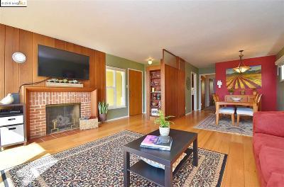 El Cerrito Single Family Home Pending: 6819 Snowdon Ave