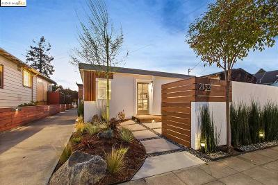 Berkeley Single Family Home For Sale: 2134 Curtis St