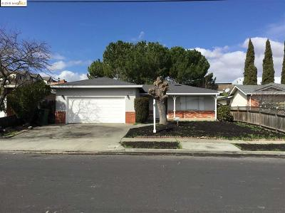 Antioch Single Family Home For Sale: 1408 Tulip Dr