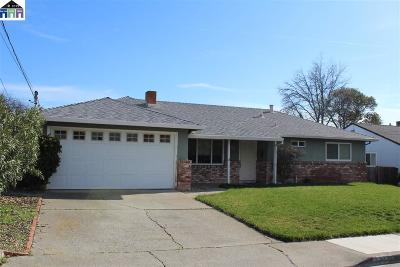 Antioch Single Family Home Pending Show For Backups: 1303 Louis Drive