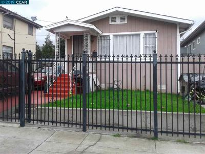 Oakland Single Family Home Pending: 5536 Hilton Street