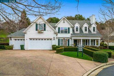 Alamo Single Family Home Price Change: 553 Justin Morgan Dr