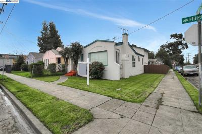 Oakland Single Family Home Price Change: 8101 Hillside St