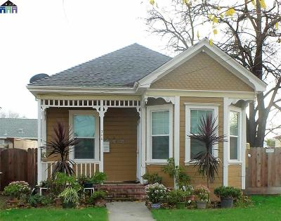 Tracy Single Family Home For Sale: 346 W 9th Street