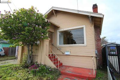 Oakland Single Family Home Pending: 1021 83rd Ave