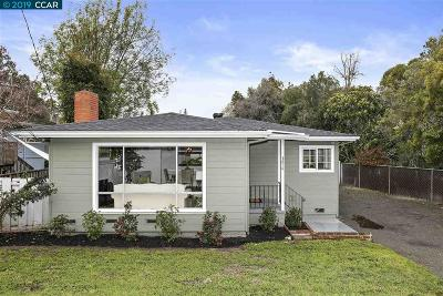 Castro Valley Single Family Home Pending Show For Backups: 3214 Keith Ave