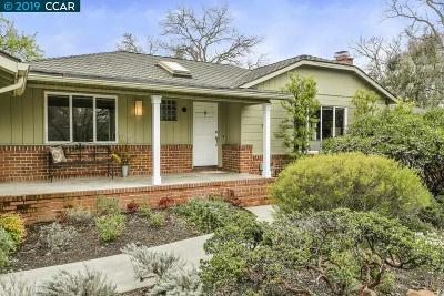 Walnut Creek Single Family Home For Sale: 21 Santa Rita Dr