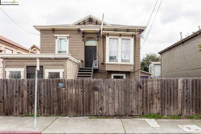 Single Family Home For Sale: 2840 Filbert St