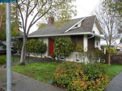 Martinez Single Family Home For Sale: 1635 Willow St