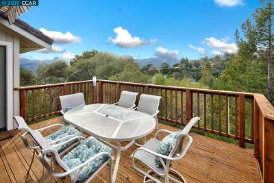 Orinda Single Family Home For Sale: 4 Oak Flat Road