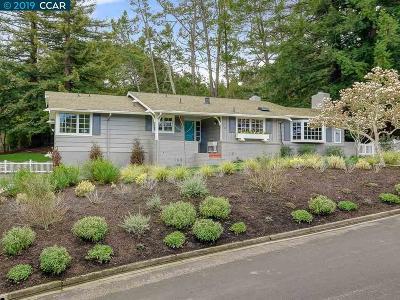 Orinda Single Family Home For Sale: 3 Sager Ct
