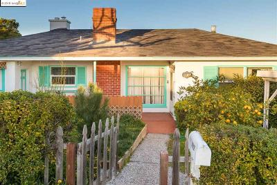 Oakland Single Family Home For Sale: 8012 Crest Ave