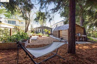 Berkeley Single Family Home For Sale: 2321 Derby St