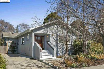 Berkeley Single Family Home For Sale: 1425 Parker St