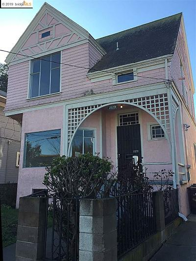Oakland Single Family Home New: 1079 53rd