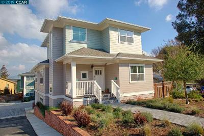 Walnut Creek Single Family Home For Sale: 2162 Overlook Dr