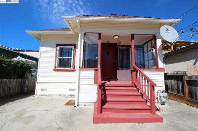 Oakland Single Family Home Pending Show For Backups: 3469 39th Ave