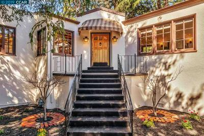 Oakland Single Family Home For Sale: 1634 Mountain Blvd