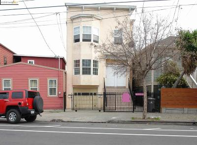 Oakland Multi Family Home New: 1324 Peralta St