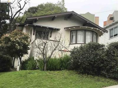 Oakland Single Family Home Sold: 415 Sunnyslope Ave