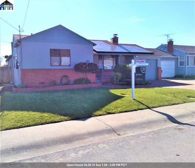 San Leandro Single Family Home For Sale: 14597 Wake Avenue