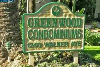 Walnut Creek Condo/Townhouse New: 1240 Walker Ave #305