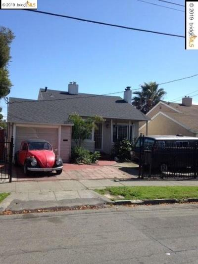 Oakland Single Family Home New: 1386 62nd Ave