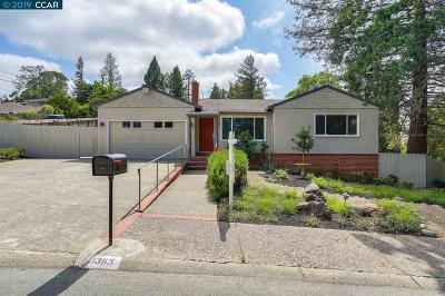 Lafayette Single Family Home For Sale: 1363 El Curtola Blvd