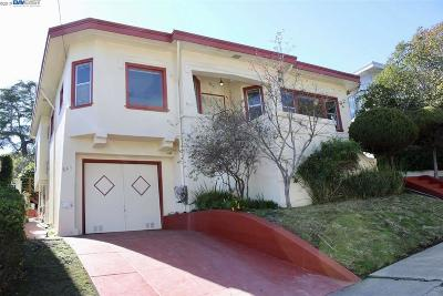 Oakland Single Family Home New: 841 Paloma Ave