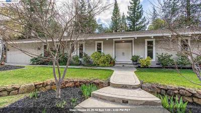 Danville Single Family Home New: 824 El Cerro Blvd